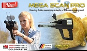 MEGA SCAN PRO-Powerful Long Range Gemstones and Metal Detector